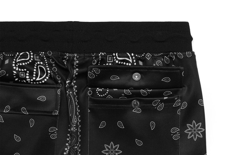 Gramercy Trackpants - Black Paisley