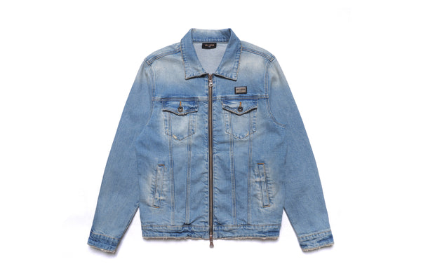 WELL KNOWN The Dean Street Denim Jacket - Light Vintage