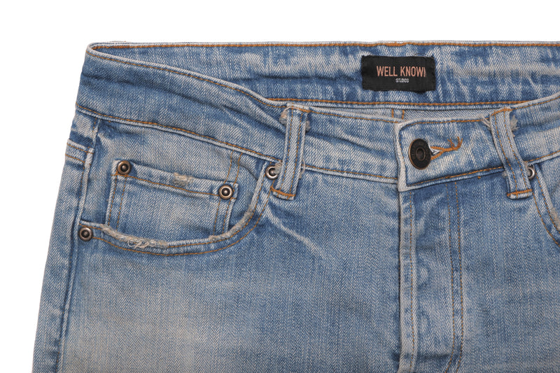 WELL KNOWN The Dean Street Jean - Light Vintage