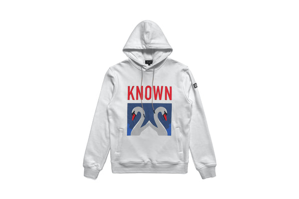 The Known Swan Hoody - White Powder