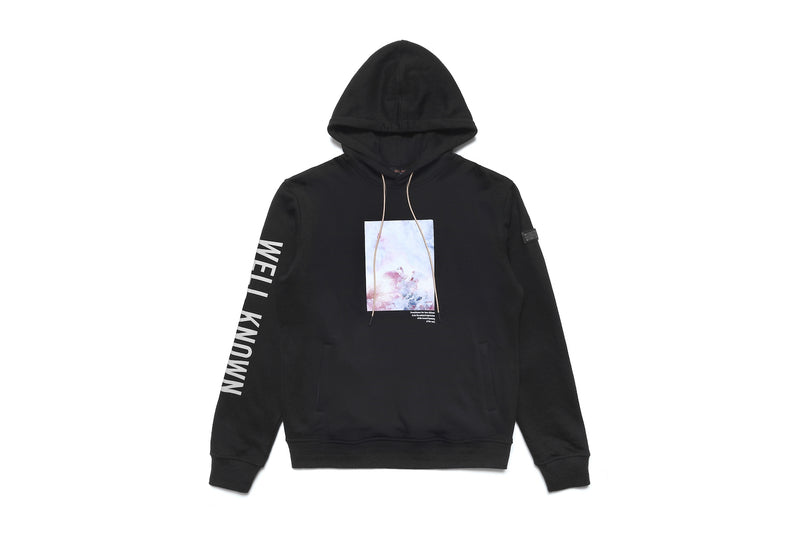WELL KNOWN The Heavenly Muted Hoody - Black