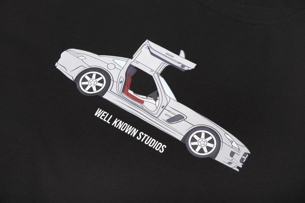 WELL KNOWN The WK AMG Tee - Black