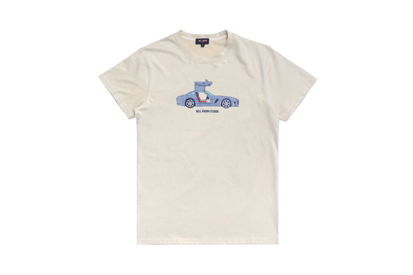 WELL KNOWN The WK AMG Tee - Cream