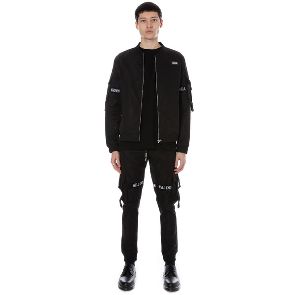 Well Known Studios Lexington Trackpants - Black