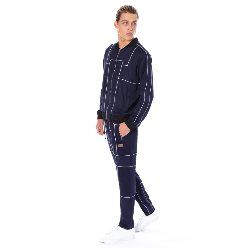 Well Known Studios Maiden Trackpants - Navy