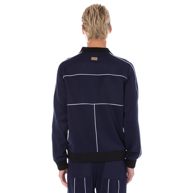 Well Known Studios Maiden Track Jacket - Navy