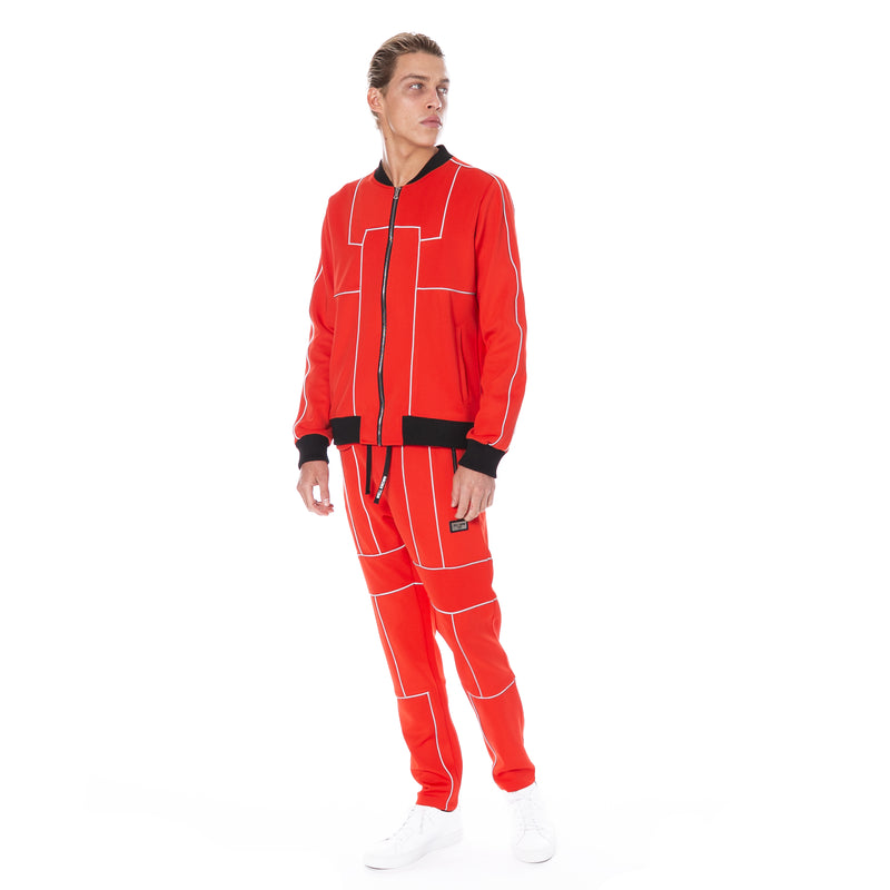 Well Known Studios Maiden Trackpants - Red