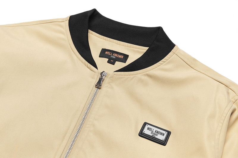 Lexington Track Jacket - Tan