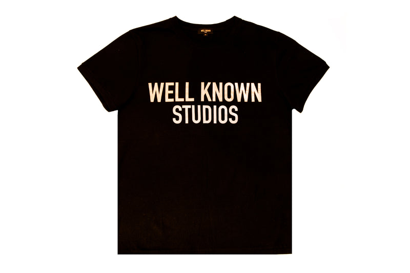 Well Known Studios Thompson Tee - Black