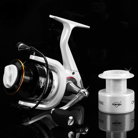 CM2000 11BB Spinning Fishing Reel Carp Fishing Wheel Spinning Reel With Spare Spool