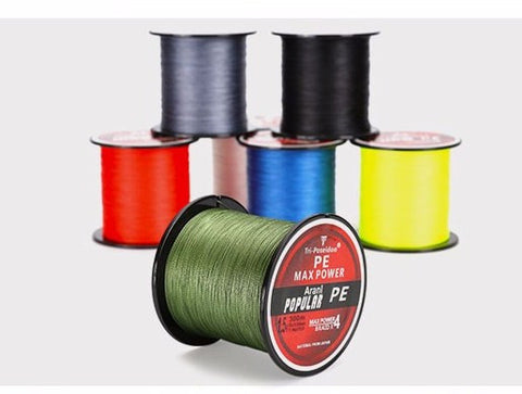 SeaKnight Tri-Poseidon Series 300M 4 Strands Braided Fishing Line Super Strong Japan Multifilament PE Line 8 10 20 30 40 50 60LB