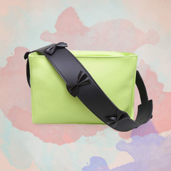 Rectangular Bows Bag by Mannequin