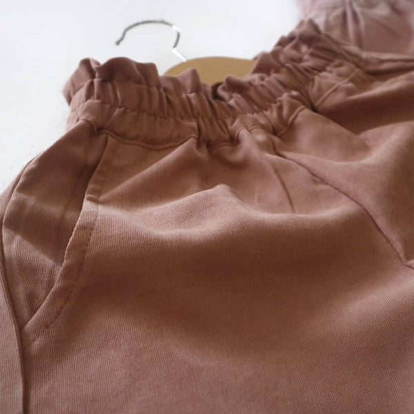 Willa Pants Caramel - Kiddokiddi