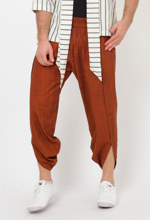 Katori Brown Pants - Okainku