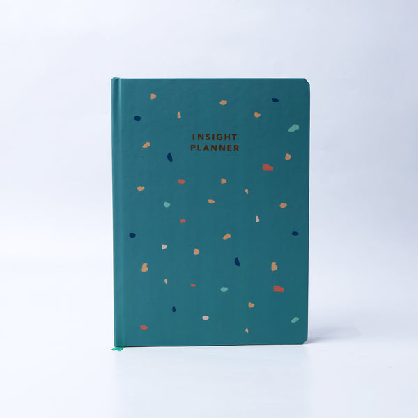 Planner hardcover Teal - Thre - hglhouse