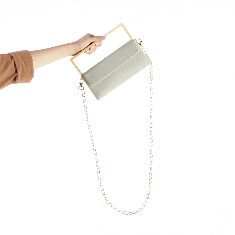 Wooden Clutch Bag Tosca - Kayane