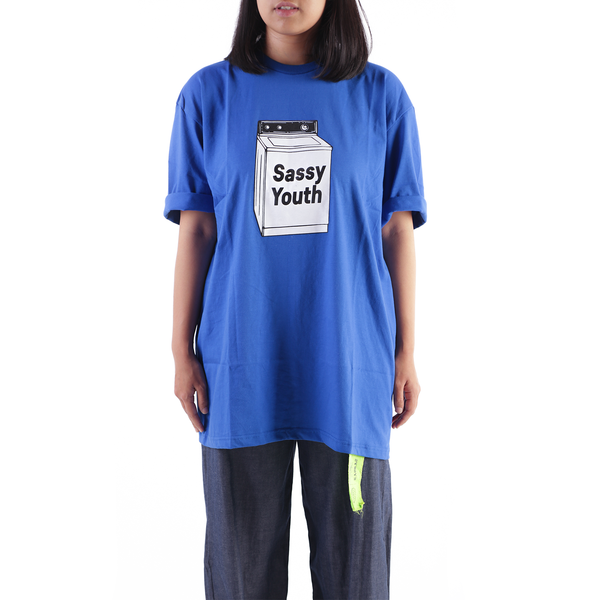 Sassy Youth Oversized Tee - Rad Rat