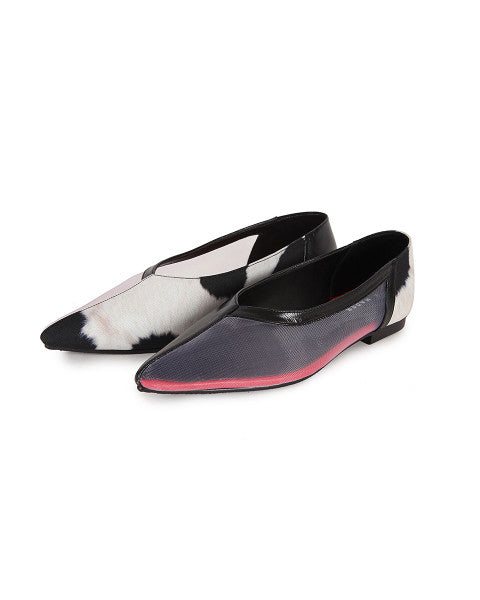 Cow Print Flats Limited Edition - Mader