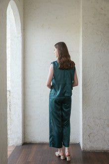 Cecil Top In Emerland Green - Maven - hglhouse