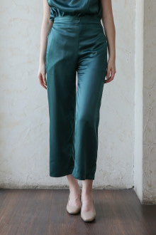 Xu Pants In Emerland Green - Maven - hglhouse