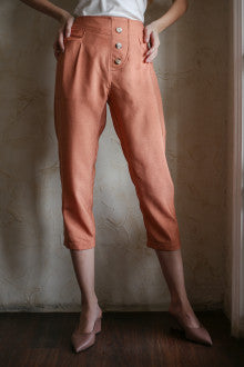 Warren Pant In Tangerine - Maven - hglhouse