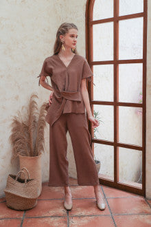 Mae Pleats In Biscotti - Maven - hglhouse
