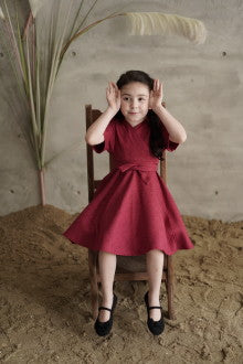 Mini MAdeline Bright Hibiscus - Maven Kids - hglhouse