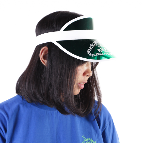 Vegas Visor Hat Green - Rad Rat