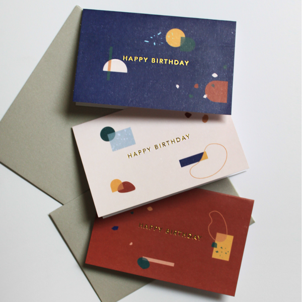 The Birthday Card Set - Thre - hglhouse