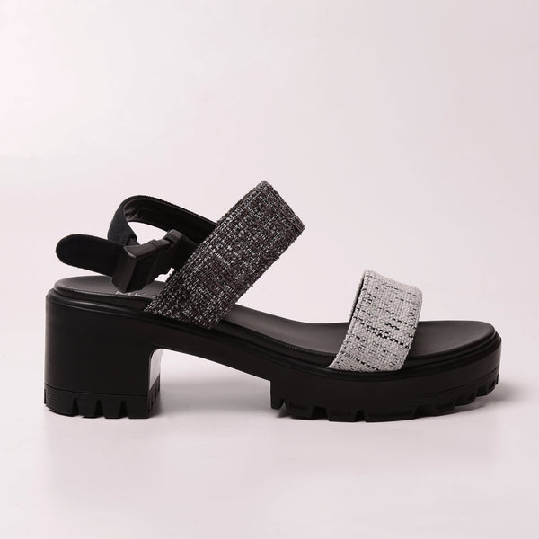Double Strap High Rustic Black - Mks Shoes - hglhouse