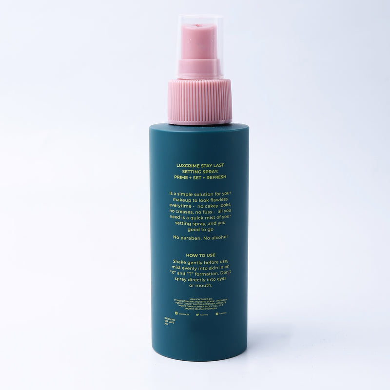 Luxcrime Stay Last Setting Spray - Luxcrime - hglhouse