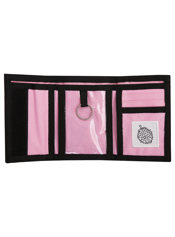 Rad Rat Logo Velcro Wallet Pink - Rad Rat - hglhouse