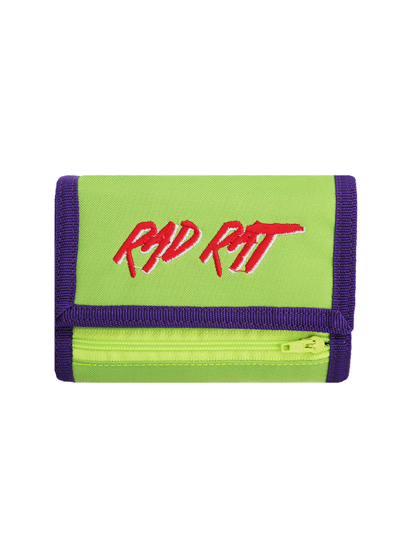 Rad Rat Velcro Wallet Green - Rad Rat