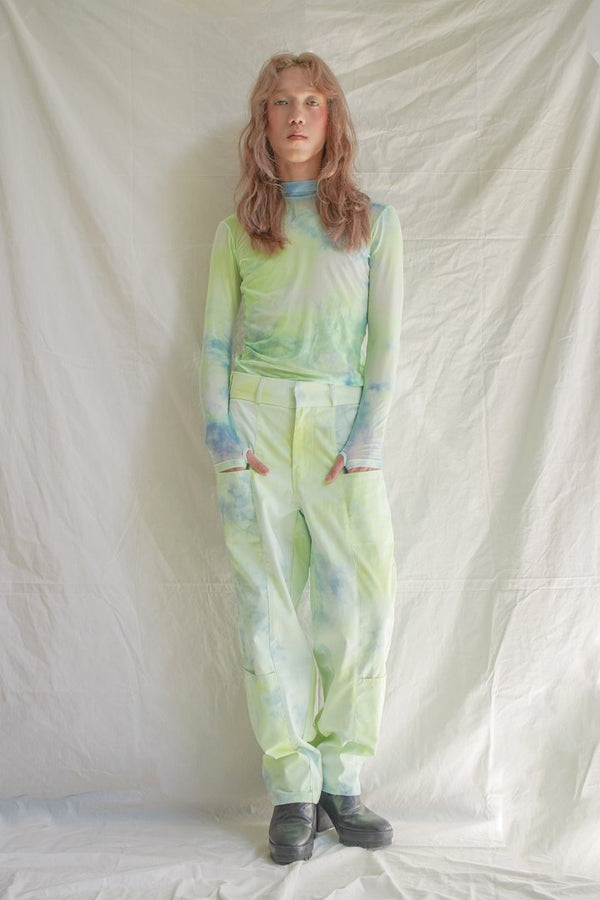 Minty Lime Grocery Pants - Ladouchevita - hglhouse