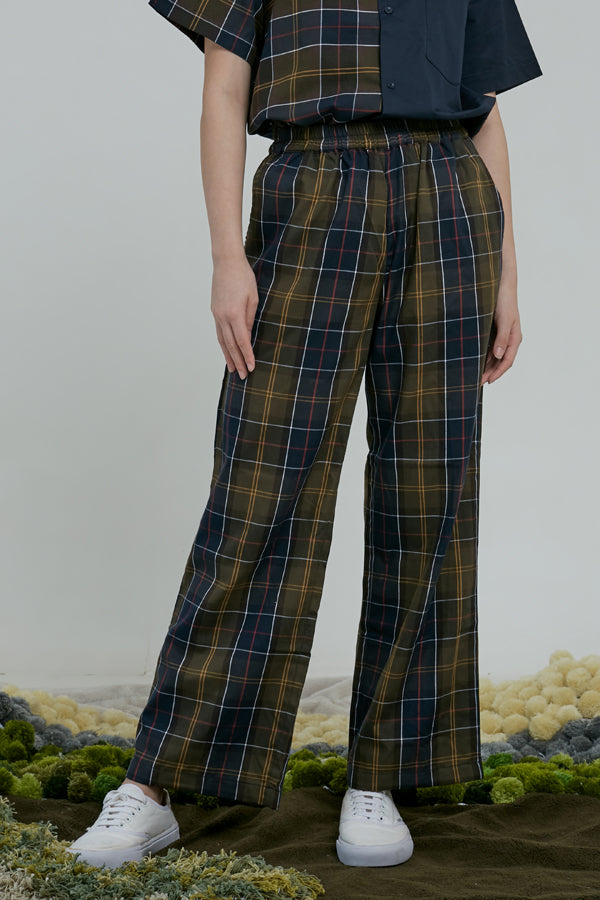 NIGHTCAP LOUNGE PANTS - ARGYLE OXFORD - hglhouse