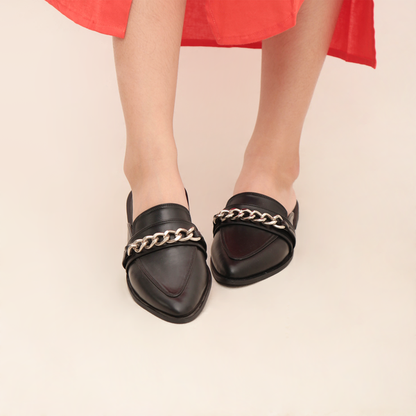 Stego Black Sandals - Bidou