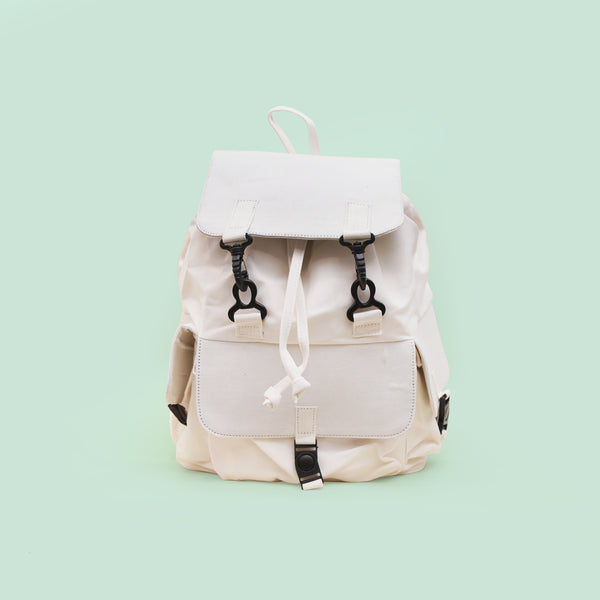 White Nala Backpack - Anzoct