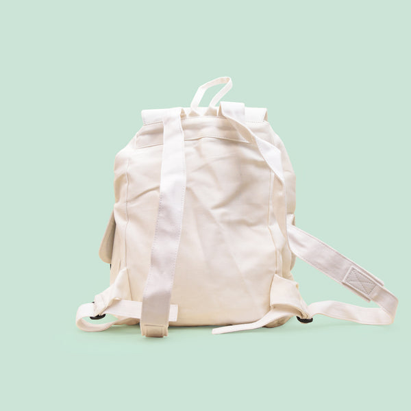 White Nala Backpack - Anzoct - hglhouse