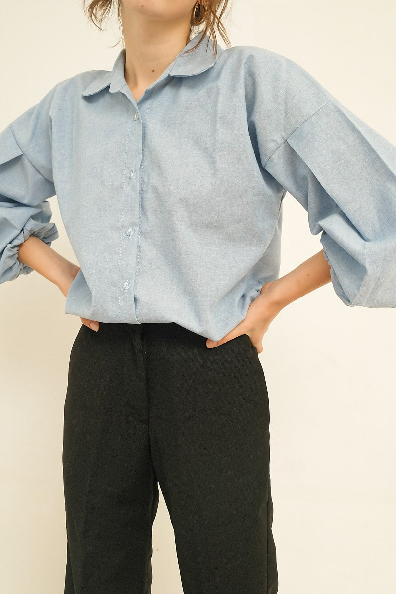 Maru Top Blue - Miroir - hglhouse