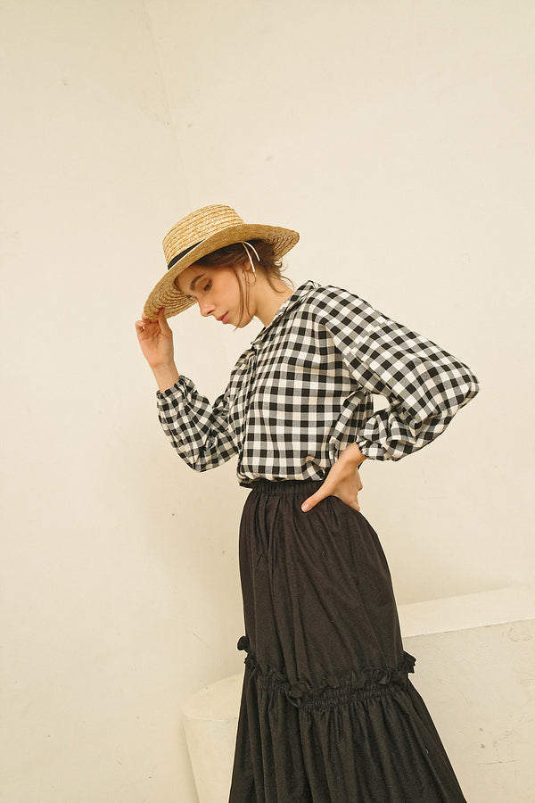Maru Top Plaid - Miroir