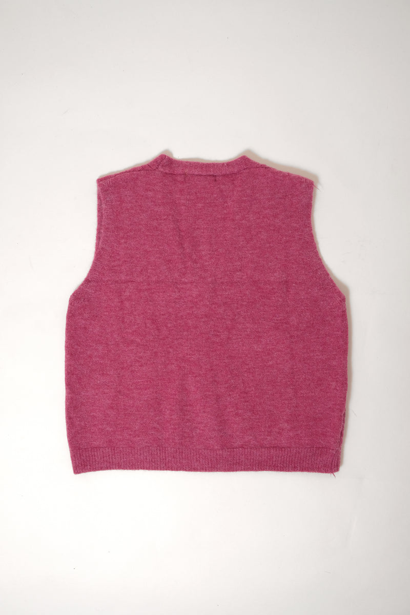 VEST WOOL PURPLE - 3MONGKIS