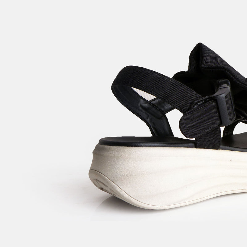 Dobo Sandal Black Ivory - Mks Shoes - hglhouse