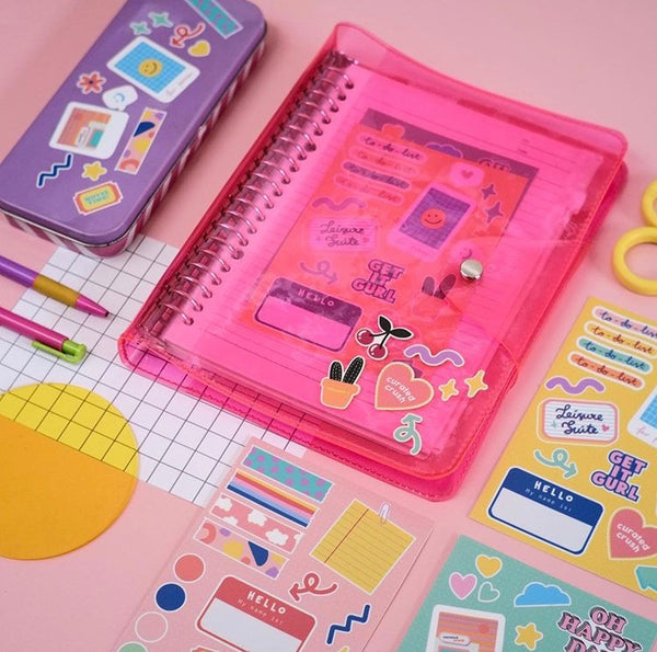 College Sweetheart Journal Pink - Curated Crush - hglhouse