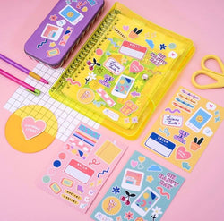 College Sweetheart Journal Yellow - Curated Crush - hglhouse
