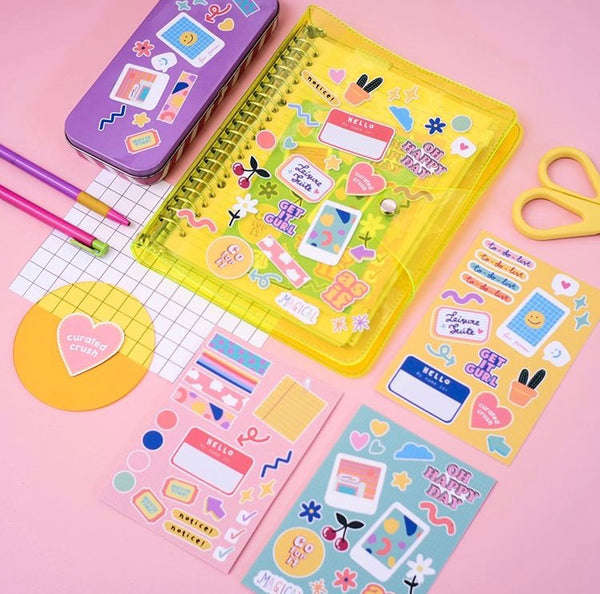 College Sweetheart Journal Yellow - Curated Crush