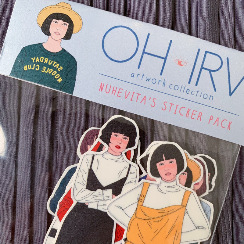 Nuhevita's Sticker Pack - Oh.Irv - hglhouse