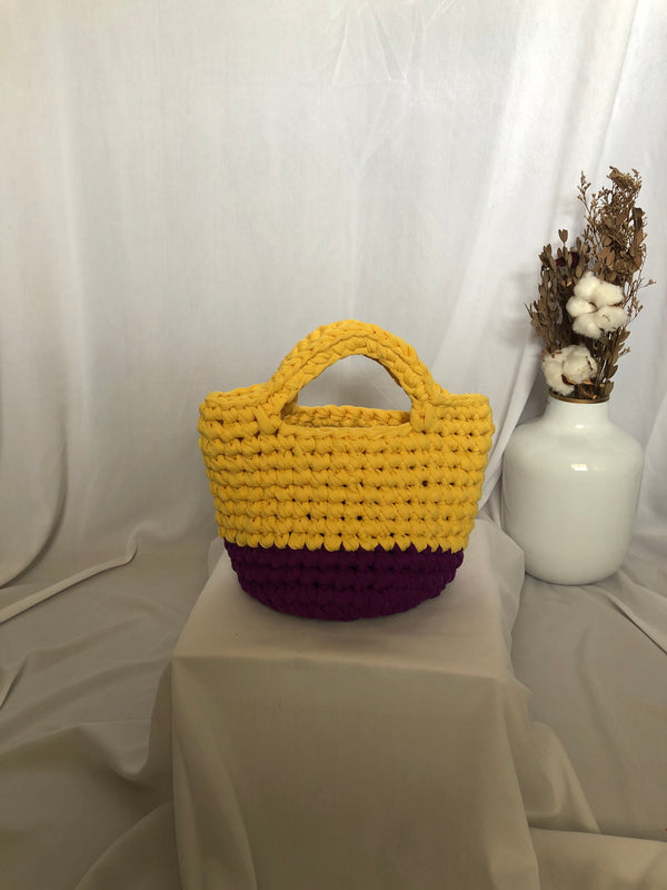 Bobo Totebag Yellow Purple - Bona