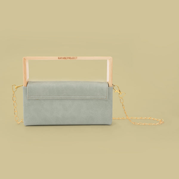 Wooden Clucth Bag Tosca - Kayane