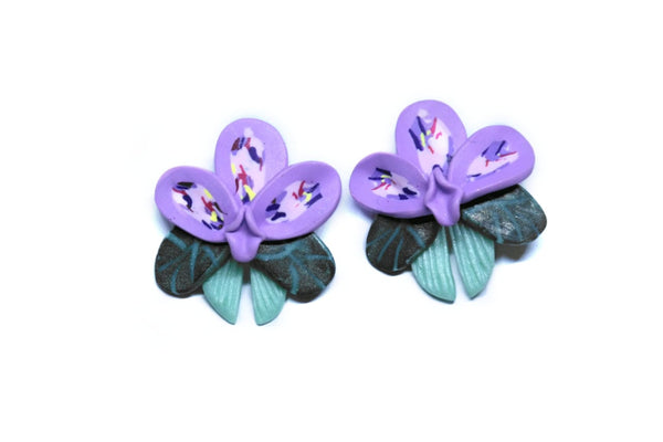 Lavender Earrings - Mita Jewelry
