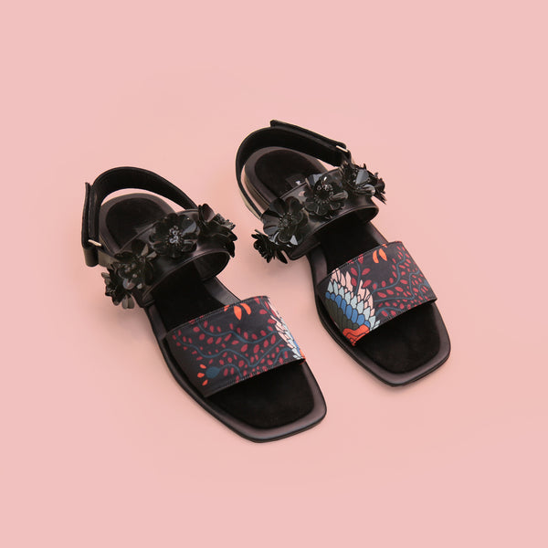 Phoenix Square Toe Black - Mader